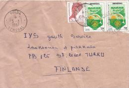 Senegal 1987 Kolda Rotary Swordfish Cover - Senegal (1960-...)