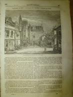 5 Juin 1834 MAGASIN UNIVERSEL : Le Palais Des THERMES ; Jane Grey Décapitée à La Hache;FIESOLE (Italie); NIL Inondations - Zeitungen