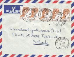 Senegal 1986 M´Backe Cover - Senegal (1960-...)