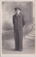 PHOTO ORIGINALE  39 / 45  WW2 KRIEGSMARINE MARIN ALLEMAND PORTRAIT CARTE PHOTO - Krieg, Militär