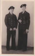PHOTO ORIGINALE  39 / 45  WW2 KRIEGSMARINE MARINS ALLEMANDS PORTRAIT CARTE PHOTO - Krieg, Militär