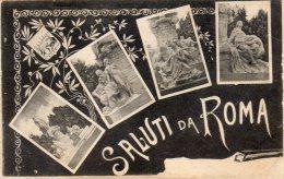 [DC6662] ROMA - SALUTI DA ROMA - Old Postcard - Roma