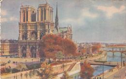 Paris - Notre-Dame De Paris - Vue Générale - Notre Dame De Paris