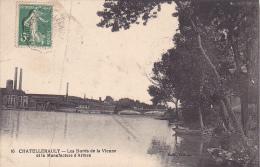 22042 CHATELLERAULT ,  Les Bords De La Vienne , La Manufacture D'Armes -  Ed 16 Videau - - Chatellerault