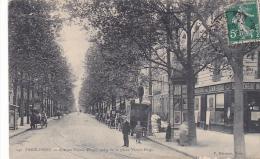 22043 PARIS - 16e -- Passy , Avenue Victor Hugo Prise De La Place V H . 140Marmuse -credit Inductriel , Publicité Job - Arrondissement: 16