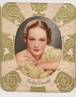 Evelyn Venable. N° 134. Image 1935 Cigarette Kur Mark. Cigaretten Card Actrice Star Cinéma - Cigarette Cards