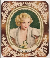 Toby Wing. N° 128. Image 1935 Cigarette Kur Mark. Cigaretten Card Actrice Star Cinéma - Cigarettes