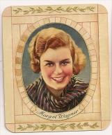 Margot Wagner. N° 125. Image 1935 Cigarette Kur Mark. Cigaretten Card Actrice Star Cinéma - Cigarette Cards
