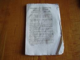 Bulletin Des Lois : Monnaies Or Argent Bronze Louis Napoleon Bonaparte; Gendarmerie Corse;Haras St Cloud;Péage Caen Eau - Décrets & Lois