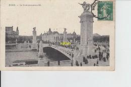 PARIS    Pont  Alexandre III - Bridges