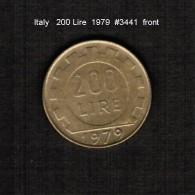 ITALY   200  LIRE   1979  (KM # 105) - 1946-… : Republic