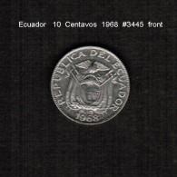 ECUADOR    10  CENTAVOS   1968  (KM # 76c) - Ecuador