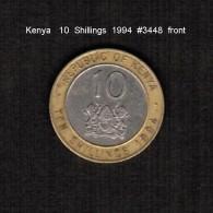 KENYA    10  SHILLINGS   1994  (KM # 27) - Kenya