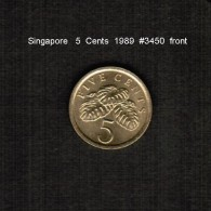 SINGAPORE    5  CENTS   1989  (KM # 50) - Singapore
