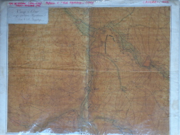 59- CAMBRAI - TRES RARE CAMP DE CESAR AN 2 DE LA REPUBLIQUE - PLAN DESSINEE PAR GAY DE VERNON -SAINT LEONARD DE NOBLAT - Historische Dokumente