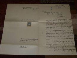 K.u.K. Botschaft Berlin 1907 Alte Papiere - Old Paper