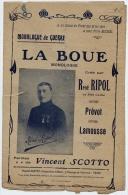 """Monologue - """" La BOUE"""" Monologue De Guerre Paroles Vincent SCOTTO - Old Paper"""