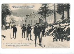 88-482 HONECK Douaniers Ski Cachet Ambulance - France