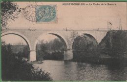 86 MONTMORILLON - Le Viaduc De La Brasserie - Montmorillon
