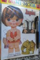 Angeles Poupe A Decouper Doll Cut Out Spanish - Altre Collezioni