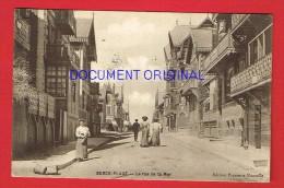 Pas-de-Calais - BERCK PLAGE - La Rue De La Mer - Berck