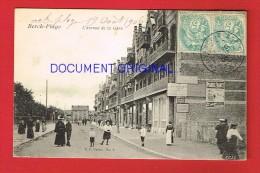 Pas-de-Calais - BERCK PLAGE - L'Avenue De La Gare - Berck