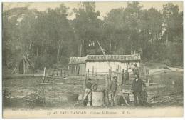 Au Pays LANDAIS - Cabane De Résiniers - Frankreich