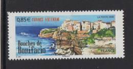 FRANCE 2008-Un Timbre (1) Gommés N° YT 4285** Bouches De Bonifacio Maisons  0.85€ - Unused Stamps