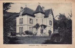 CPA GROSLEE (près Lhuis) - Une Villa (A51) - Frankrijk