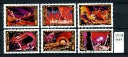 CUBA -lo Spazio Nel Futuro - Year 1974 - Timbrati- Stamped - Affranchiè - Gestempelt. - Space