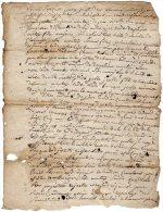VP837 - CLERMONT 1782 - Acte De Succession De Mr J. VILLETTE Peigneur De Chanvre - Seals Of Generality
