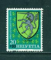 SWITZERLAND - 1979  Pro Juventute  20+10c  Used As Scan - Pro Juventute
