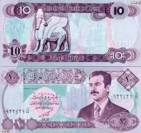 IRAK BILLET DE 10 DINARS  DE 1991 GUERRE DU GOLFE NEUF 10/10 UNC + KDO