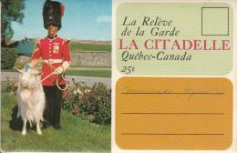 Québec - La Citadelle - Souvenir Boolet - Change Of The Guards - Royal 22e Regiment - Military - Animation - 2 Scans - Québec - La Citadelle
