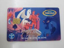 Chip Phonecard,Disney Hercules,used - Malaysia