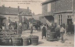 DAMERY ( Ets Achille Perrier La Pesee Du Raisin ) - France