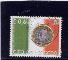 VATICAN,  2004 USED, Scott  # 1276 , Flags & One-Euro Coins:  Ireland        USED - Vatican