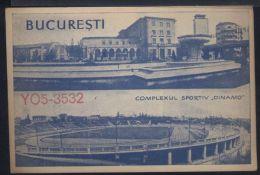 WB93   CARTOLINA QSL 1962 YO5-3532 CLUJ , HARTINGHER NICOLAE , STADIO DINAMO - Altri