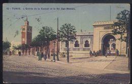 WB280 TUNIS - L'ENTREE DE LA KASBA ET LE BD BAB-MENARA - Tunisia
