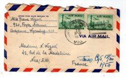 Lettre , ETATS UNIS , CHEYENNE , WYO. , 1950 - Vereinigte Staaten