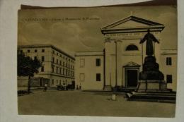 CARTOLINA Di CIVITAVECCHIA A4932 VIAGGIATA CHIESA - Civitavecchia