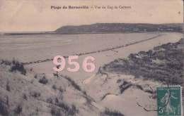 CPA * * PLAGE DE BARNEVILLE * * Vue Du Cap De Carteret - Barneville