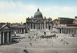Citta Del Vaticano   Square And Church Of St. Peter.     B-2129 - Vatican