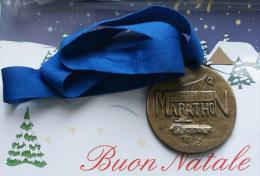 ITALIA 1995 - ARTISTIC MEDAILLON MARATHON OF ROME 1995 - Italia