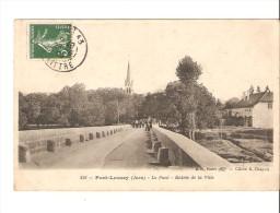 PORT LESNEY Le Pont Entrée De La Ville-JURA- - Autres Communes