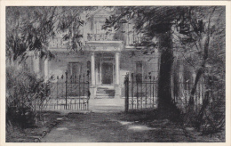 Onslow Square , LONDON , England , 00-10s Charcoal Sketch Postcard ; Home Of Thackeray - Non Classés