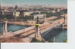 PARIS    Pont Alexandre - Bridges