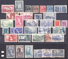 France 1930s Collection Used - Yv. 85 Euros - France