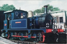 Railway Photo Card SR SECR P Class 323 Bluebell SHEFFIELD PARK 0-6-0T Loco - Picture Cards