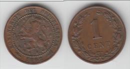 **** PAYS-BAS - NETHERLANDS - 1 CENT 1892 WILHELMINA **** EN ACHAT IMMEDIAT - 1 Cent